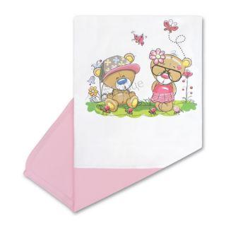 Памучна пелена - Lovely Bears