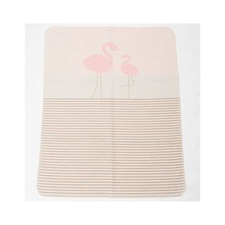 Памучно одеяло - Фламинго