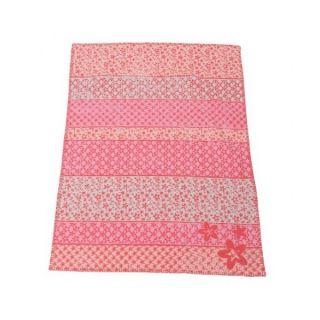 Памучно одеяло от органичен памук - Цветя