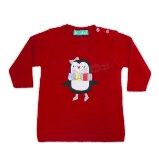 Коледен пуловер - Пингвинче