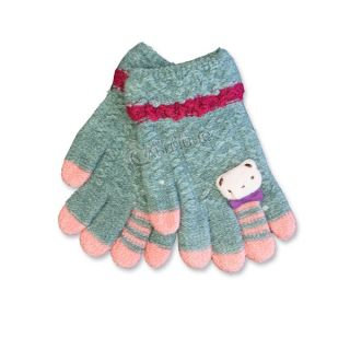 Зимни плетени ръкавици - Winter