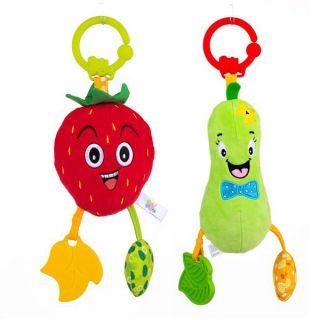 Плюшена играчка за количка Плодчета Bell - Bali Bazoo