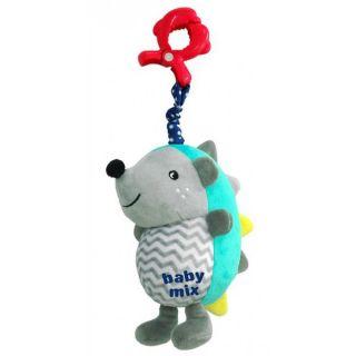 Плюшена музикална играчка Таралежче - BABY MIX