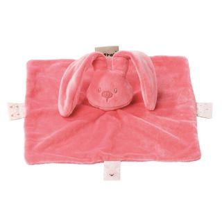Плюшено зайче с одеяло Корал - Nattou