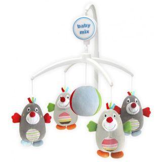 Музикална играчка за легло Къртичета – BABY MIX