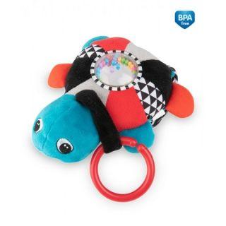 Плюшена музикална играчка с дрънкалка Colourful Ocean - CANPOL