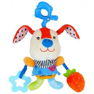 Плюшена музикална играчка Зайче – BABY MIX