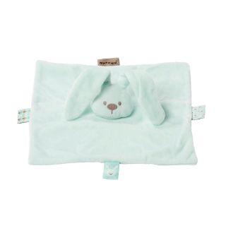 Плюшено зайче с одеяло Мента - Nattou