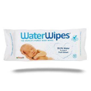 Почистващи мокри кърпички - Water Wipes