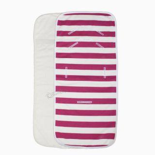 Подложка за количка с хавлиен гръб - Pink