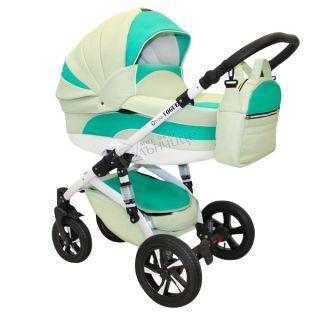 Бебешка количка VOGUE ECO PRECIOUS EMERALD - NIO