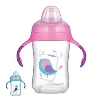 Преходна чаша с мек накрайник Birds - CANPOL