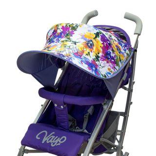 Двулицев сенник за количка с UV защита - Fiori