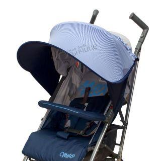 Двулицев сенник за бебешка количка с UV защита - Sky