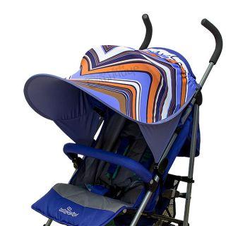 Двулицев сенник за количка с UV защита - Stripe