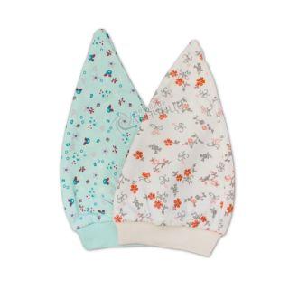 Бебешка шапка - Flowers