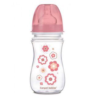 Шише за хранене против колики Newborn Baby 240мл - CANPOL