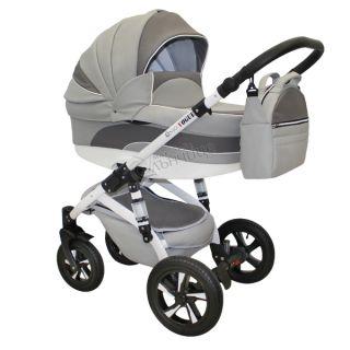 Бебешка количка VOGUE ECO SILVER GREY - NIO