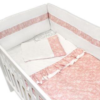 Спален комплект от девет части - Розова феерия