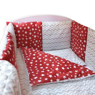 Спален комплект от девет части - Starry Dreams Red