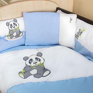Спален комплект от десет части Pandoo - Син