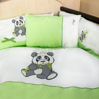 Спален комплект от десет части Pandoo - Зелен