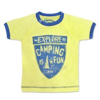 Блуза с къс ръкав - Camping