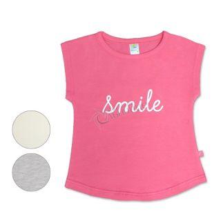 Блуза с къс ръкав - You Make Me Smile