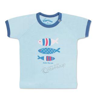 Блуза с къс ръкав - Fish