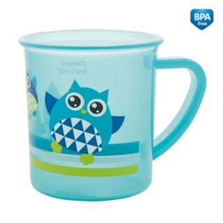 Пластмасова чаша Owl - CANPOL