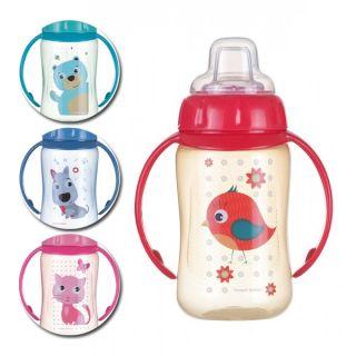 Спортна чаша с мек накрайник Cute Animals - CANPOL