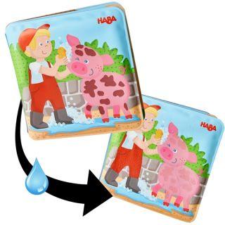 Вълшебна книжка за баня Ферма - HABA