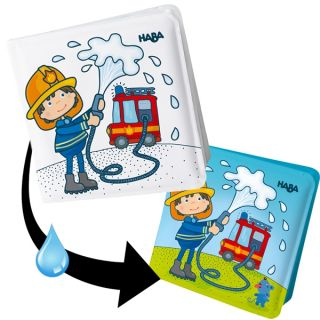 Вълшебна книжка за баня Пожарна - HABA