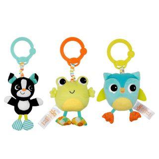 Вибрираща плюшена играчка Take n' Shake - Bright Starts