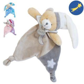 Плюшена играчка с луминесцентна дрешка - BabyNat