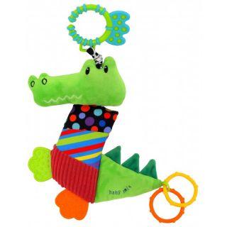 Играчка за количка Крокодил - BABY MIX
