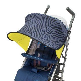 Двулицев сенник за количка с UV защита - Zebra Grevy