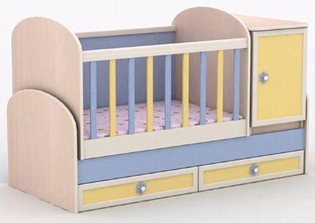 Трансформиращо бебешко легло Гергана - люлка плюс
